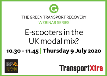 E-scooters in the UK modal mix?
