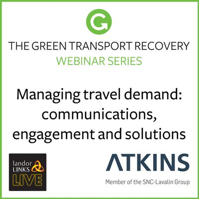 Managing travel demand: communications, engagement and solutions