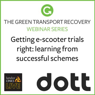 Getting e-scooter trials right: learning from successful schemes