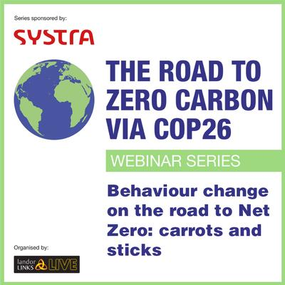 Behaviour change on the road to Net Zero: carrots and sticks