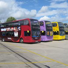 The Reading fleet of hybrid electrically powered buses