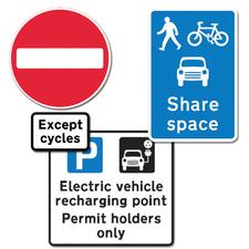 A few of the new signs soon to grace our streets