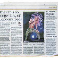 On October 5 Evening Standard columnist Andrew Neather suggested that London needs to start planning for a world where car use is declining