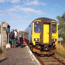 Berney Arms in Norfolk is a tiny station located in a part of the Norfolk Broads inaccessible by car. It has been successfully promoted for tourism and recreation – and could offer lessons for some rural stations in Scotland, says Chris Wood
