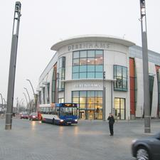 Will he stop for me? Elwick Square, Ashford: the research found most pedestrians avoid the central part of the square