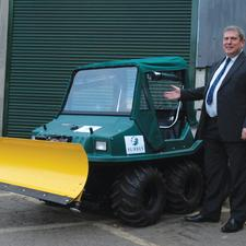 The Surrey gritting services enter new territory – online and off-road