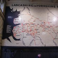 The railway system in the north of England has declined since its heyday as still depicted at Manchesters Victoria station, but there is still an extensive network predominantly serving local needs