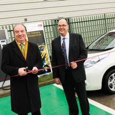 The privately-owned DC charging point in Retford will be able to charge an EV in half an hour