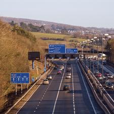 The M4 at Newport: multiple junctions add to jams