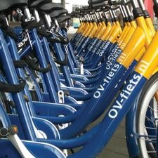 The Dutch OV-fiets bike hire scheme: coming to 50 stations