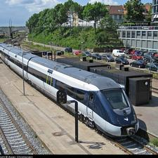 It is hoped the upgrade of the rail line between Aarhus (pictured) and Hobro stations in Denmark will avoid the need for an additional high-speed link.