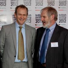 Peter Cowlard of Makers with Alexander Armstrong