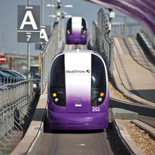 The Global Ultra Pod system at Heathrow was named overall winner