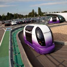 The pods serve Heathrow T5