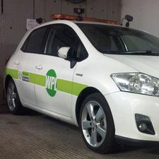 The Nottingham WPL enforcement car