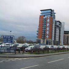This car park on Whitehall Road has now been approved by Leeds City Council