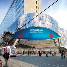An artist's impression of the New Street extension