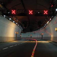 Balfour will manage roadside technology in the South West under the first RTMC. Pictured: A38 Saltash Tunnel in Plymouth