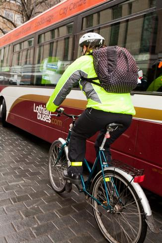 Making life safer for cyclists in Edinburgh