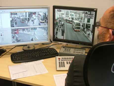 Brighton's control hub zooms in on offenders