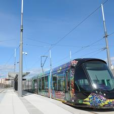 The Montpellier tramway, opened in 2000 has this year been expanded with two extra lines. The four line system is now the second biggest in France.