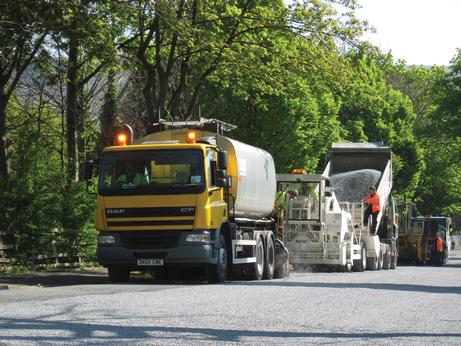 Industry to report on tonnage of surfacing materials ordered