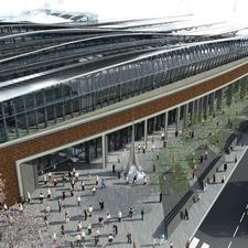 A new area of public space will front the Tooley Street entrance to the concourse