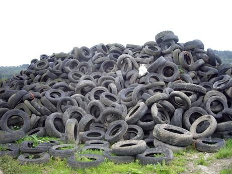 'Recycled' tyres being dumped in countryside