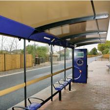 High quality passenger environments and facilities are part of the package of BRT measures delivering a step change in quality that can influence the business case (picture courtesy of Hampshire County Council)