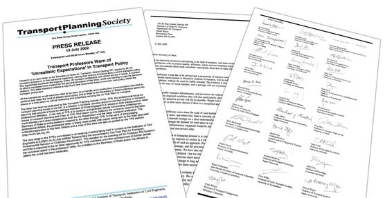 Twenty-eight professors signed the letter to Alistair Darling in 2002