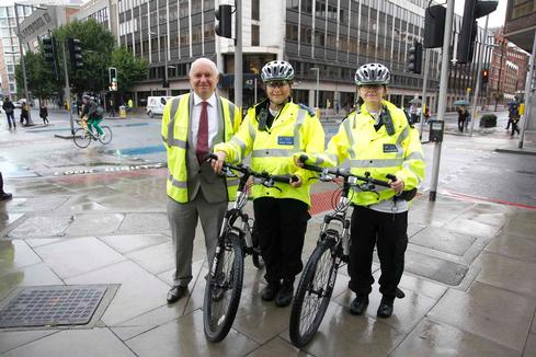 Cyclists in Southwark  caught out by spot-checks