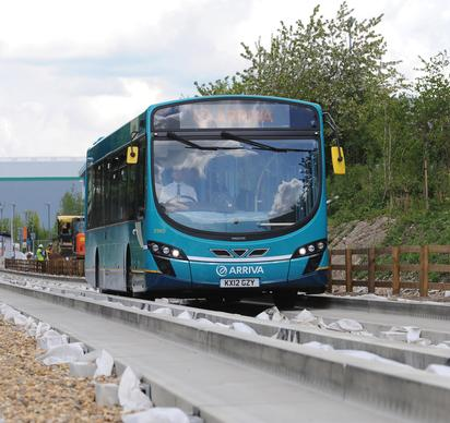 Luton-Dunstable busway gets ready to roll