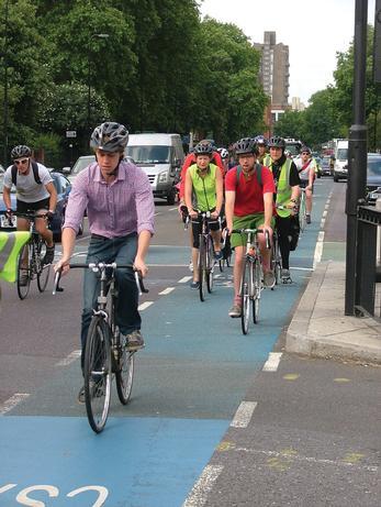 The DfT predicts cycling trips will decline from 2015 onwards
