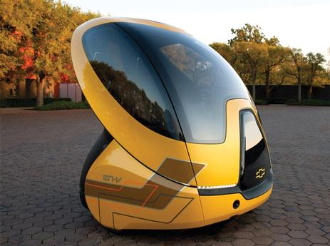 The UK's Transport Systems Catapult centre, based in Milton Keynes, is promoting the concept of driverless pods, though there are currently no plans to operate them on roads