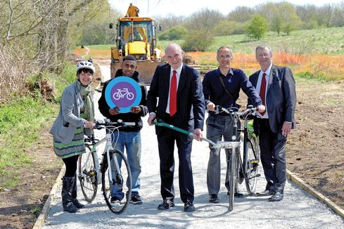 New cycle routes have been introduced across the West Midlands