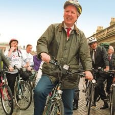 Norris enthusiastically promoted cycling when he was transport minister in the 90's