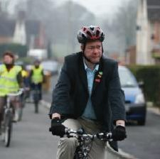 Cycling: good for the planet, good for your physical health, good for reducing stress, good for congestion reduction...