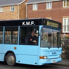Arriva paid KMP an undisclosed sum to acquire its routes between Bangor and Llandudno
