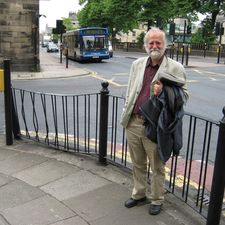 John Whitelegg in his home city of Lancaster