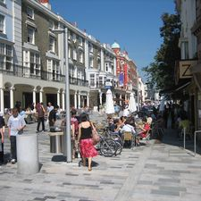 New Road, after ? a genuinely attractive ?linear place? of which Brighton should be proud