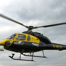The Network Rail helicopter