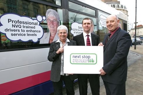 The first statutory quality partnership for buses is signed