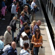 Public ratings for rail remain low