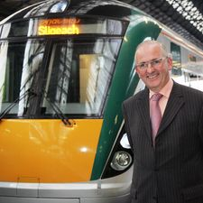 Fearn has been with Irish Rail's CEO since 2003, and he has introduced new trains, and closed the long gaps between trains to Dublin with increased frequency