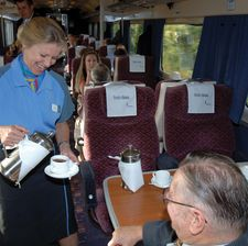 Good quality customer service can make the difference for train operators