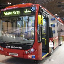 Blackburn-based Optare displayed the first of five hybrid Tempos for London operator Metroline. The vehicles use a BAE?Systems hybrid drive
