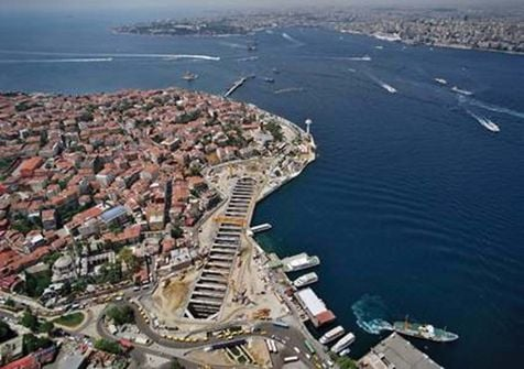 PB has been involved in work to provide a rail tunnel across the Bosphorus