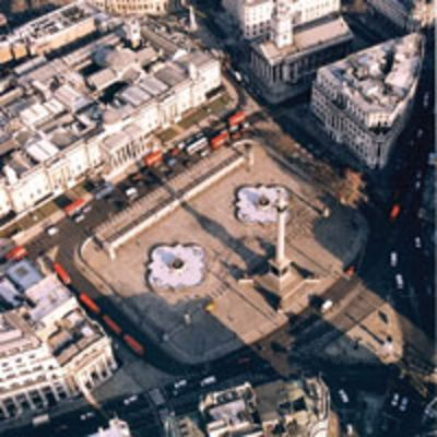 Until the Atkins redesign Trafalgar Square was an island surround by traffic, cut off from the National Gallery to the north