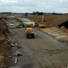 New road schemes continue to be popular choices for England's regions