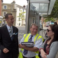 First Group's business director Alex Warner takes to the streets of Norwich for a delight the customer day
